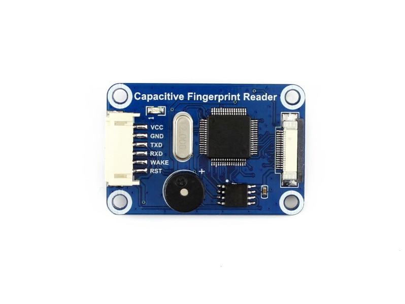 Module de lecteur d'empreinte digitale capacitif de qualité STM32F105 Support de capteur de semi-conducteur Raspberry Pi/Arduino/STM32 - 3