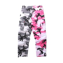 FREE SHIPPING Patchwork Multy Camouflage Pants JKP341