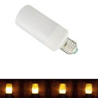 E27 Led Ngọn Lửa Đèn Lửa Effect Nhẹ Bulb E26 110 V 220 V Nhấp Nháy Thi Đua ngọn lửa Đèn E26 LEDs corn bulb New năm