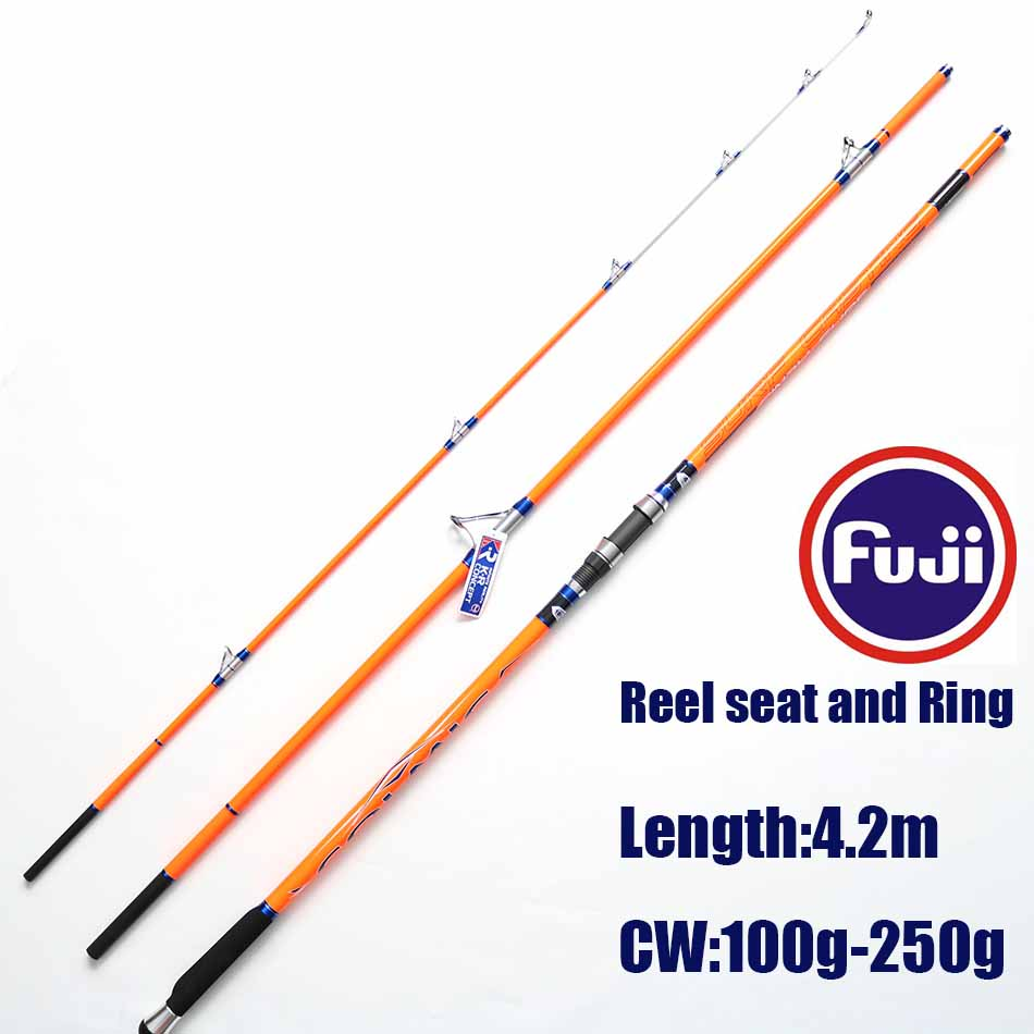 Buy free shipping colmic cindy surf rod 4 for Surf fishing rod and reel