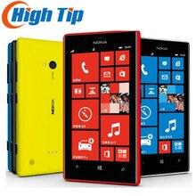 """Débloqué Original Nokia Lumia 720 Dual core Mobile téléphones 6.7MP WIFI 4.3 """"GPS Windows OS 8 GB Rénové Par SGPost Livraison Gratuite"""