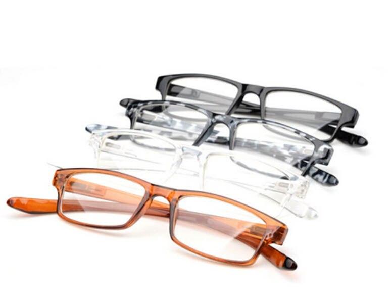 1bb34a768 موضة جديدة pc الإطار الكامل تمتد خفيفة الرقبة تشبث طويل النظر نظارات  القراءة نظارات الرجال النساء نظارات gafas دي lectura