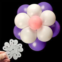 11 in 1 Ballons Accessories 1PCS Flower Modelling Seal Clips Latex Balloons Sealing Clips Birthday Party Decorations Adult(China)