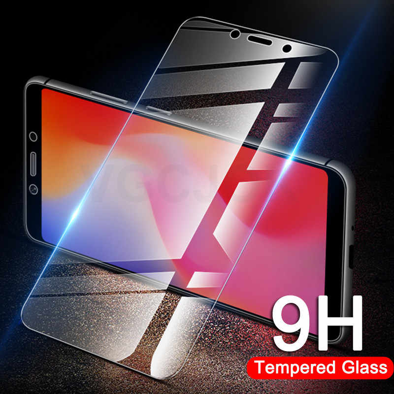 Protective Glass on the For Xiaomi Redmi 6 Pro 6A 5 Plus S2 5A Redmi Note 5 5A 6 Pro 7 Tempered Screen Protector Glass Film Case