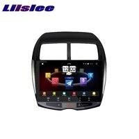 Для Mitsubishi RVR ASX 2010 ~ 2017 LiisLee Автомобильный мультимедийный ТВ DVD gps аудио Hi Fi Радио Стерео оригинальный Стиль навигации NAVI
