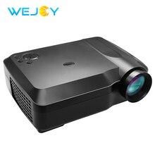 Wejoy L3 мини-проектор Поддержка 1080 P 3000 люмен LCD ТВ Projetor персонального использования дома или в Театр светодиодный проектор с разрешением full HD данные показывают