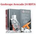 Original Geekvape Avocado 24 RDTA Tank 5ml with Velocity Deck Support Single or Dual Coil Refill Avocado 24 RTA Atomizer (MM)
