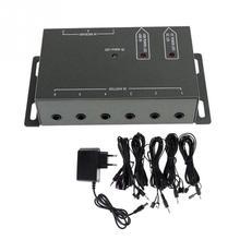 ИК-пульт дистанционного Extender транспондера 1 приемник 4 излучателей инфракрасный ретранслятор Скрытая Системы комплект