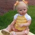 Реалистичные Силиконовые Виниловые 28 Дюймов Возрождается Кукла Комплекты Мода Головы 3/4 Руки И Ноги Реалистичные Куклы Частей Кукла Аксессуары
