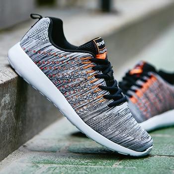 Men Casual Shoes 2019 New Light Breathable Comfortable Flat Men Shoes Fashion Male Sneakers Zapatos De Hombre Shoes Men