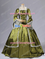 Marie Antoinette Victorian French Formal Period Ball Gown Stage Lolita Dress Costume H008