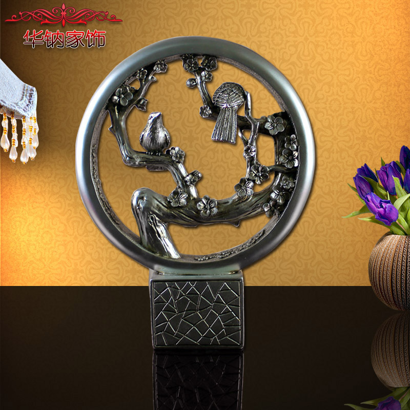2016 Time limited Sale Chinese Retro Home Furnishing Wind Resin Study Decorative Craft Gift Wholesale Entrance Decoration
