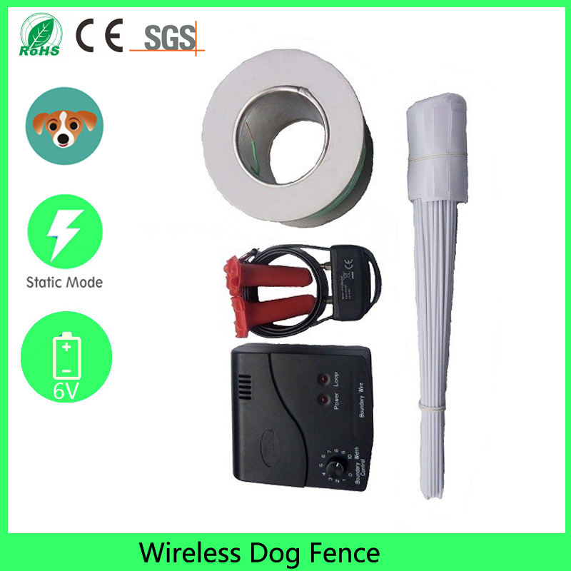 inground portable waterproof invisible electric fence system with multi dog static shock electric