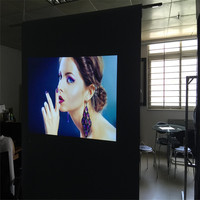 1.52x5m 4K Frant Projection Film for Advertising window /Home cinema /Pubs