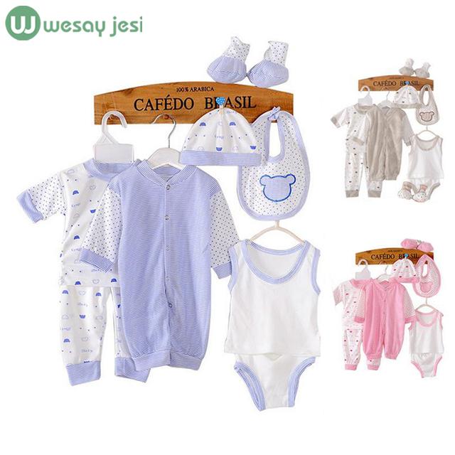 8 UNIDS Nuevo chándal ropa de Bebé recién nacido infantil del bebé ropa de niño niños traje de tela recién nacidos muchacha del niño del bebé ropa conjuntos