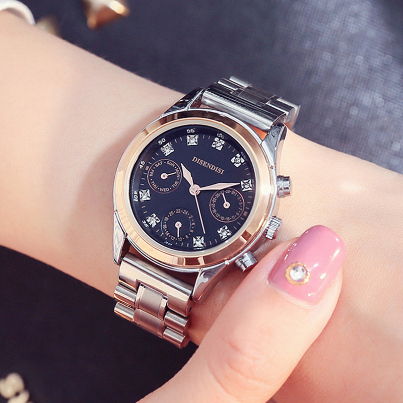 New luxury brand watch Women fashion classic stainless steel watches Relogios Feminino casual waterproof quartz wristwatches hot onlyou brand luxury fashion watches women men quartz watch high quality stainless steel wristwatches ladies dress watch 8892