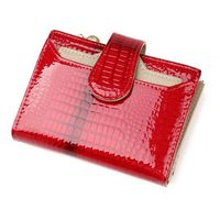 Fashion Leather Women Wallets Short Coin Purse Small Wallet Coin Pocket Card Holder Pocket Wallet For