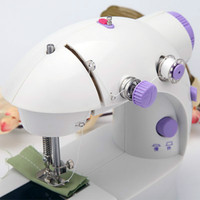 Mini Electric Mini Portable Household Sewing Machine Manual Desktop Miniature Pedal Sewing Machine 202