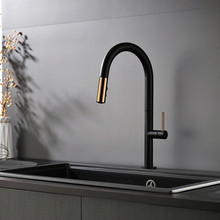 Luxury Kitchen Faucets Kidkraft Grand Gourmet Corner Play Set Buy Black Faucet Pull Out And Get Free Shipping On New Brass Mixer Sink