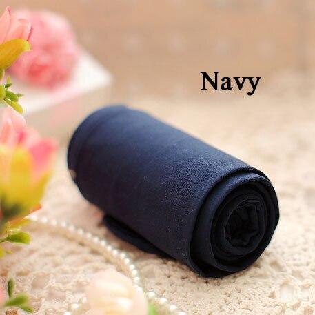 BIVIGAOS модные сексуальные Kawaii милые 120D бархатные бесшовные колготки ярких цветов колготки непрозрачные женские 18 цветов Сексуальные чулки - Цвет: Navy