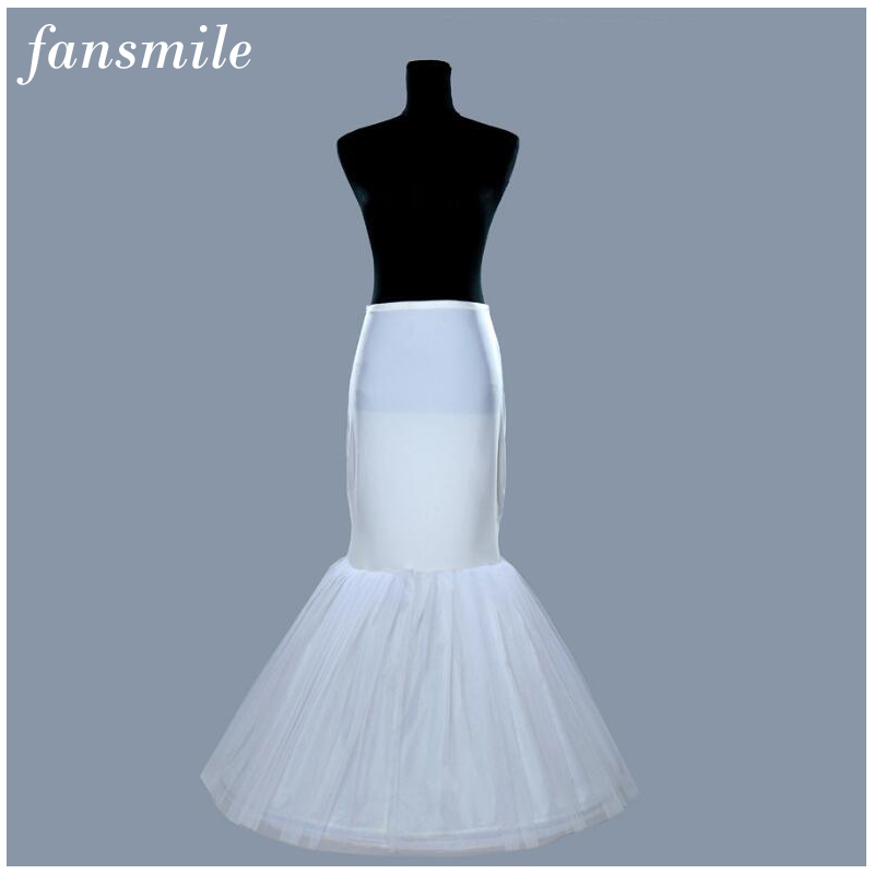 2019 High Quality Mermaid Bridal Wedding Petticoat Free Shipping Bridal Gown Underskirt For Wedding Crinoline Slip Accessories