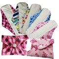 New Design Minky Feminine Pad Washable Reusable Cloth Sanitary Menstrual Pad Bamboo Mama Cloth