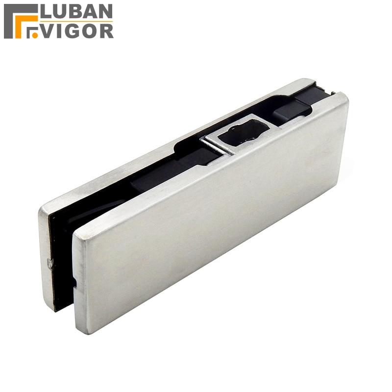 Frameless Glass Door Cliptempered Aluminumupper Lower Door