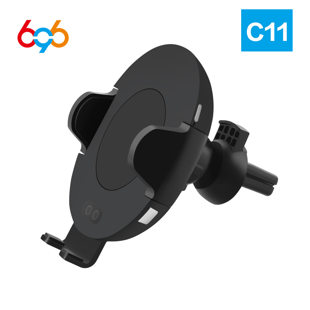 696 C11 C9 Qi Wireless fast Car <font><b>Charger</b></font> for Iphone for Samsung with car wireless <font><b>charger</b></font> c10 induction <font><b>charger</b></font> image