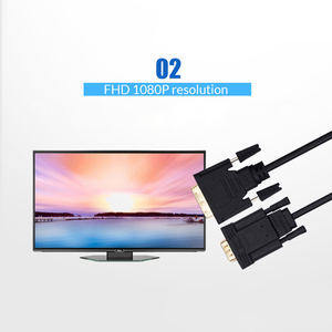 Image 5 - Unnlink Active DVI to VGA Adapter FHD 1080P@60 DVI D 24+1 to VGA Digital Adapter Converter Cable For Laptop Host Graphics Card