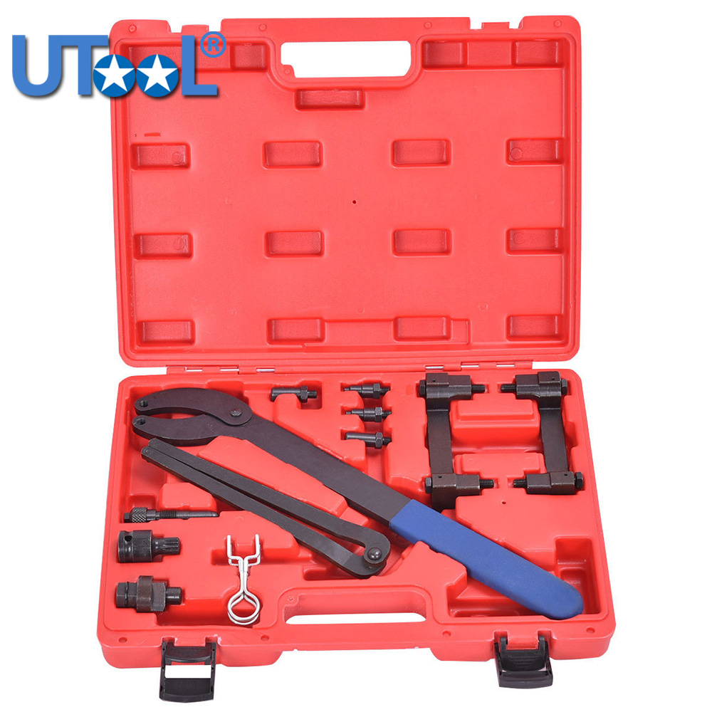 T40070 T40069 T10172 Engine Camshaft Crankshaft Locking Timing Tool Kit For Audi A2 A3 A4 A6 A8 2.4/3.2L V6 FSI 6pcs set vag timing toolkit for vw audi skoda 1 0 1 2 1 4 tsi tgi automotive engine timing camshaft car repair tool kit