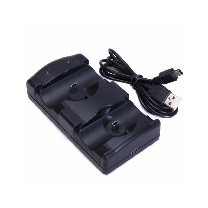 USB Dual Charging Powered Dock Charger For Sony PlayStation 3 Controller Joystick For Sony PS3 Controle and Move NavigationUSB Dual Charging Powered Dock Charger For Sony PlayStation 3 Controller Joystick For Sony PS3 Controle and Move Navigation