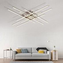 Хромированная алюминиевая современная светодиодная Люстра для гостиной, спальни, кабинета, хрустальная люстра, освещение