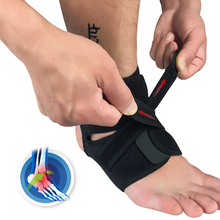 1pcs Ankle Weights Brace Support Strap Gym Sports safety high-elastic Adjustable Compression bandages basketball protector