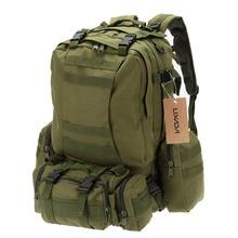 50л походные сумки военный Молл тактический рюкзак сумка походная водостойкая сумка 600D камуфляж Горячая
