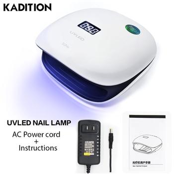 Kadition SUN4 УФ-лампы 36 светодио дный s лампы для всех Ногти Гель-лак Маникюр быстро сушки ногтей Ice Дисплей светодио дный УФ лампа 48 Вт
