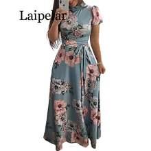 Laipelar женское длинное платье макси 2019 летнее пляжное с