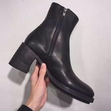 New 2016 Autumn Fashion Martin Boots Women Casual PU Leather Boots Pointed Toe   Women Ankle Boots