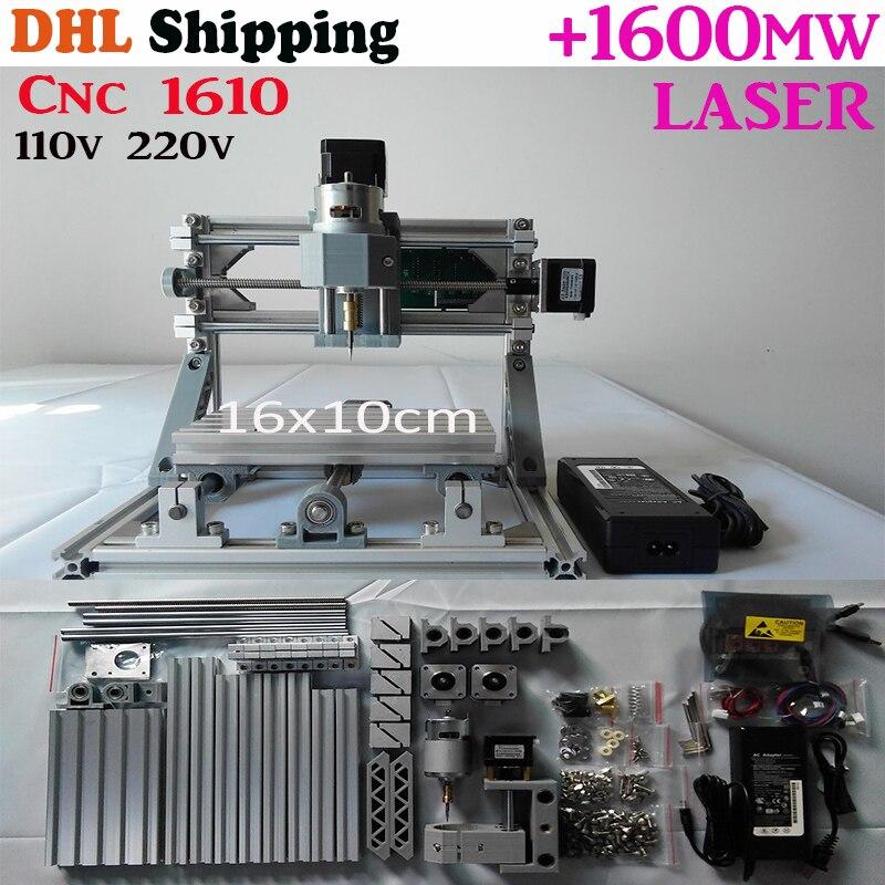 GRBL control Diy 1610 mini CNC machine,Wood Carving machine,3 Axis Pcb Milling machine,Wood Router,arduino cnc router, DHL ship