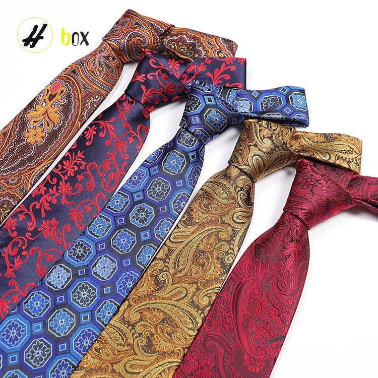 Einzigartige Design Männer Polka Dot Streifen Business Casual Professionelle Mode Krawatte Polyester Silk Pfeil Typ Jacquard Gestreifte Krawatte