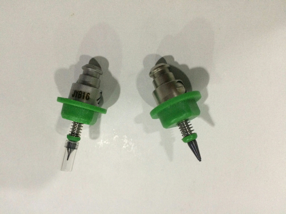 JUKI 509 nozzles for 0.2x0.4mm KE2000/2010/2020/2030/2040/2050/2060 machine juki smt nozzle 2 piece juki 506 pick and place nozzles for juki high speed chip shooter ke 2010 2020 2030 2040 2050 2060 fx 1