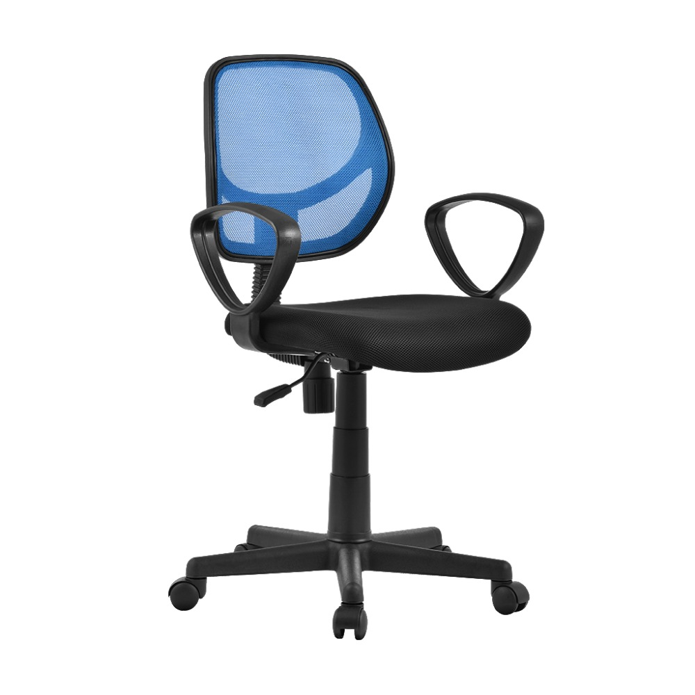 Official Website Us Fashion Mid-back Height-adjustable Armless Basic Faux Leather Computer Studio Task Office Chair With 360 Degree Swivel Office Furniture Furniture