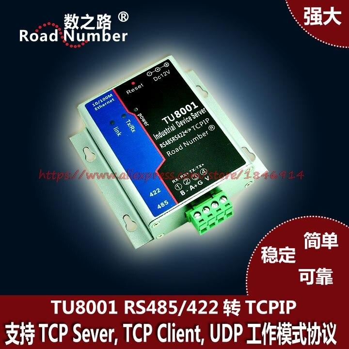 Serveur série série vers réseau Ethernet 485 vers Ethernet TCPIP   modbus DTU transmission