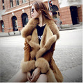 Artificial Fur For Winter Women High Quality Sheepskin Fur Female-Coat Warm Winter Coats Girl Faux Fur Coat A2038