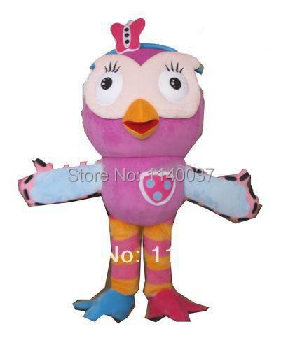 17008ff411a094 Mascotte Roze uil Mascotte Kostuum custom fancy kostuum anime cosplay kit  mascotte thema fancydress carnaval kostuum