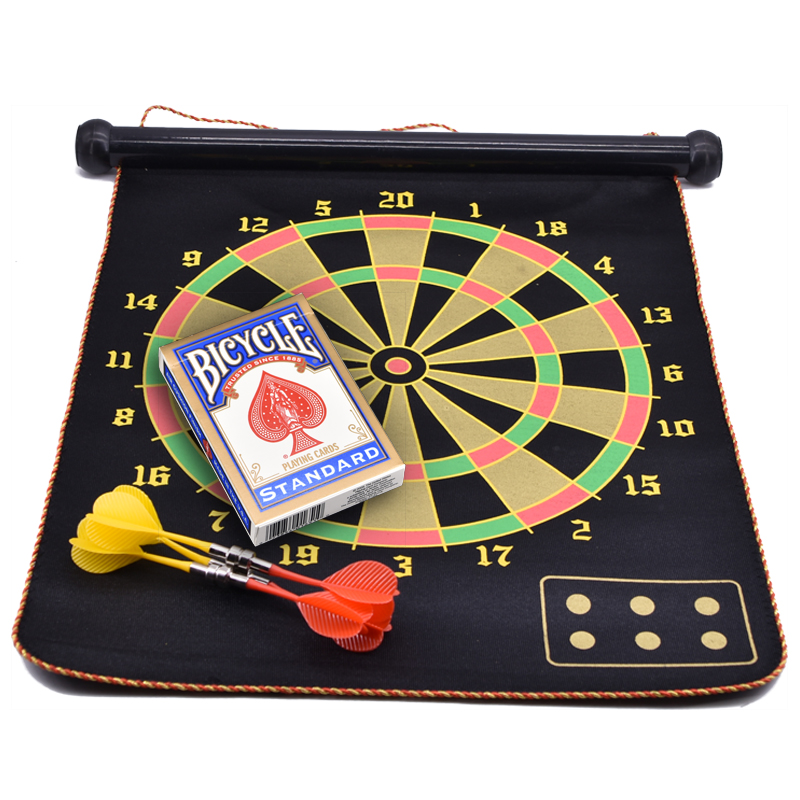 Magnetic Dart Board (Dart Game) Darts Prediction Magic Tricks Chose the Selected Card Magie Stage Illusion Gimmick Props Comedy master prediction system prediction case white and aluminum case with bottle magic tricks fire props dice comedy mental magic
