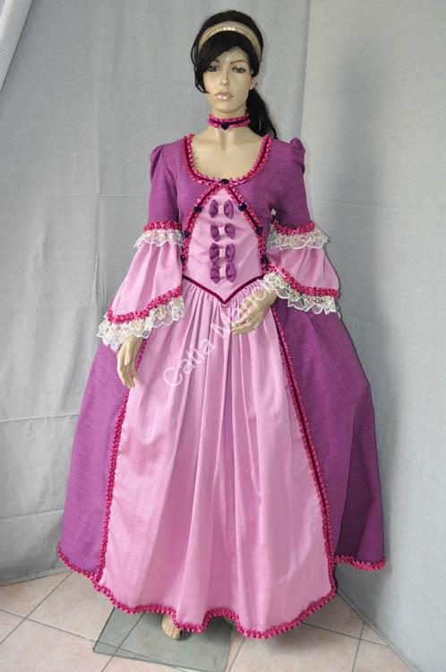 High Quality 18th Princess Elegant Bustle Dress Antique Dress Renaissance