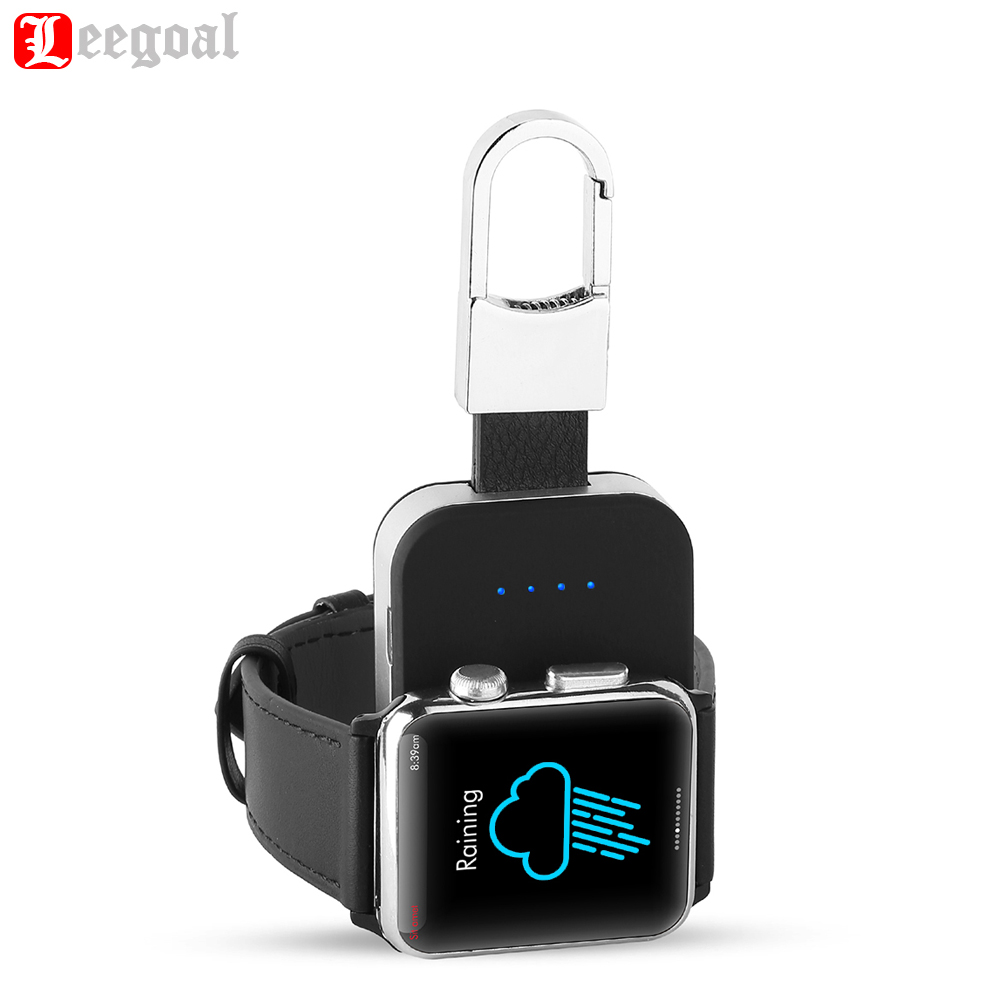 Consumer Electronics Efficient Magnetic Wireless Charger For Apple Watch Series 4 3 2 1 Portable Mini Qi Charger External Power Bank Keychain For Apple Watch Chargers
