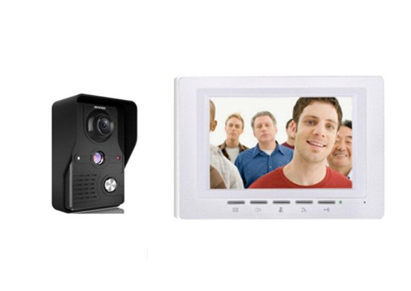 7 Inch  700TVL Two Way Intercom  Video Door Phone 817-MK