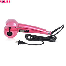 Hot Sale Hair Curler LCD Pro Salon Automatic Curling Ceramic Roller Wave Machine Styler Iron hair curler auto