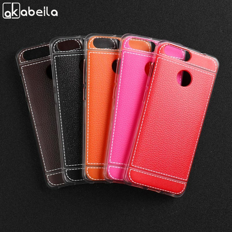 Leather Soft TPU Case For ZTE Blade V9 Vita Cases For ZTE V9 Vita Cover Anti-Knock  Protective Housing Back Shell Bumper Bags